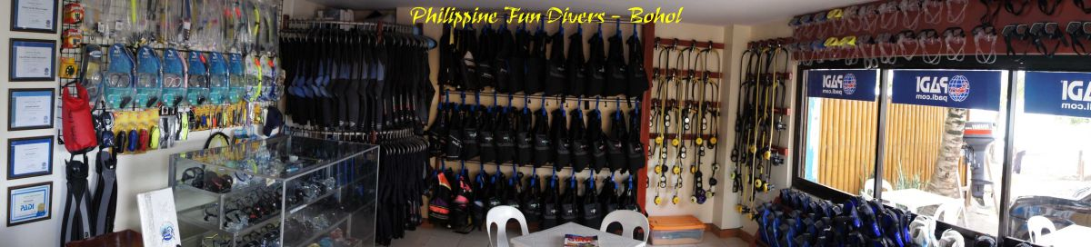 Scuba Diving in Alona Beach, Tawala, Bohol, Philippines