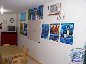 Philippine Fun Divers Alona Beach Panglao Bohol Classroom 4