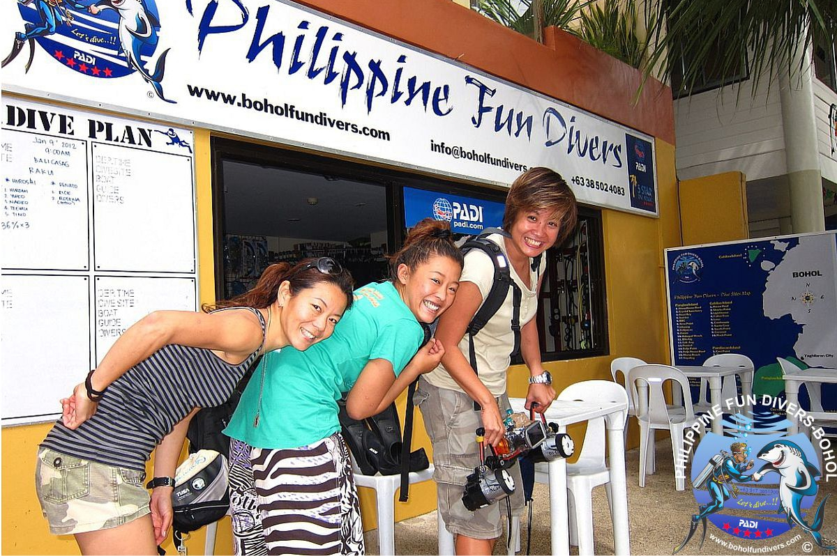 Philippine Fun Divers Alona Beach Panglao Bohol outside view 3