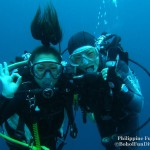 Philippine Fun Divers - Divers Alona Beach Panglao Bohol Rena and Dive Master student