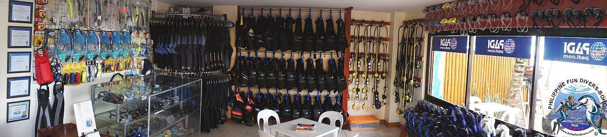 Philippine Fun Divers dive center inside 1