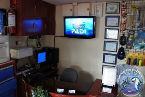 Philippine Fun Divers dive center inside 3