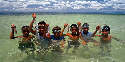 Kids In bohol