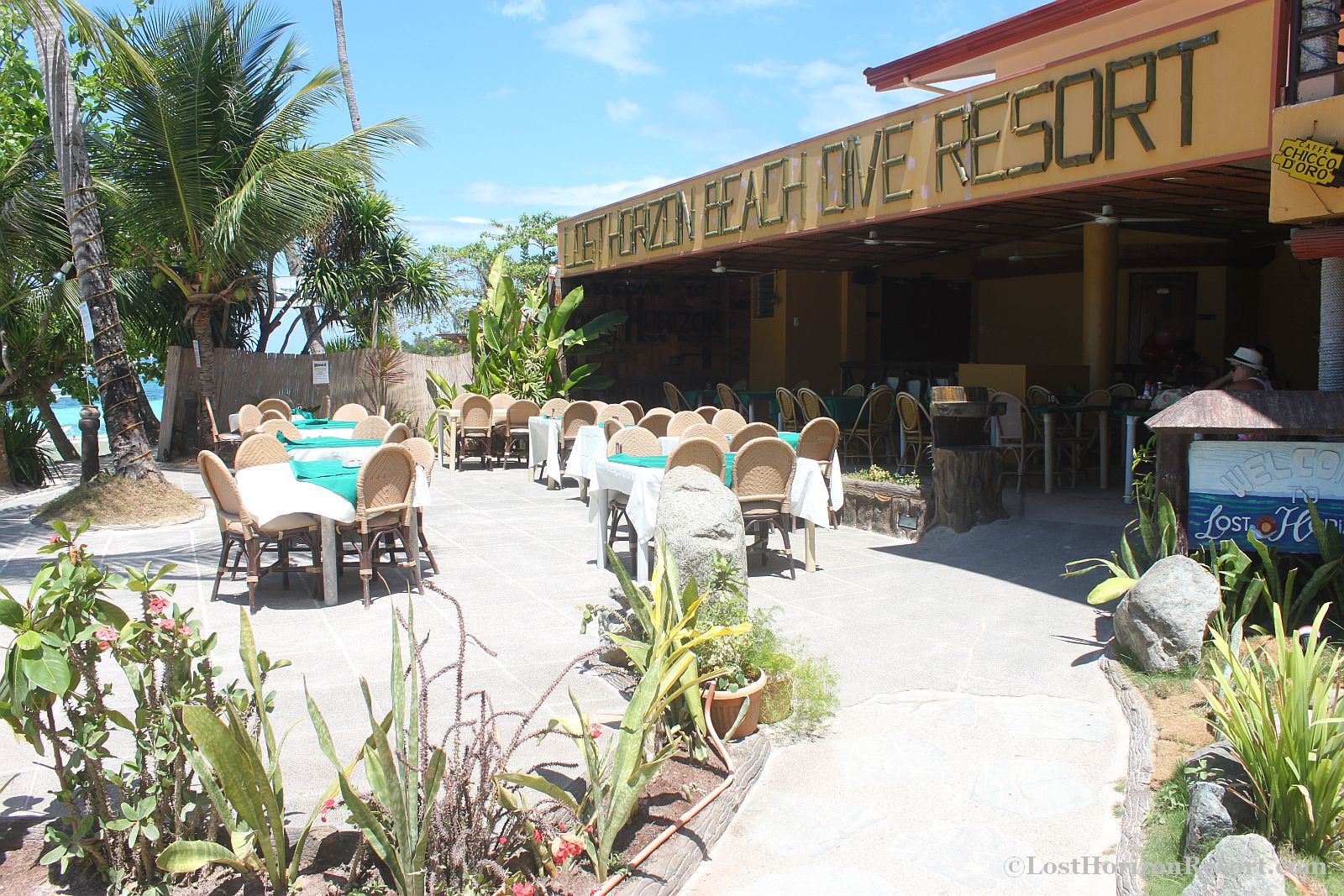 Lost Horizon Beach Resort in Alona Beach Bohol Philippines