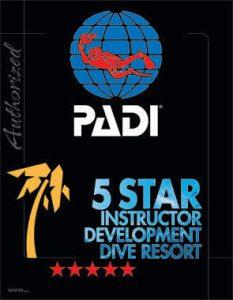 Award Padi 5 Stars
