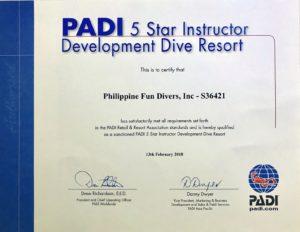 Padi 5 Star Instructor Development Dive Resort Jpg